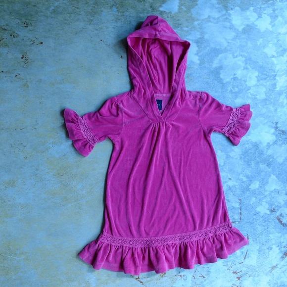 2be4465fc8 GAP Swim | Terry Cloth Hooded Suit Coverup Dress | Poshmark